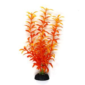 Aquarium Plant 3 8Inch Orange