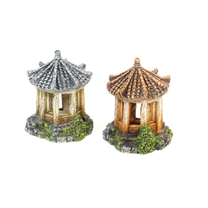 Classic Asian Temple 90Mm x2